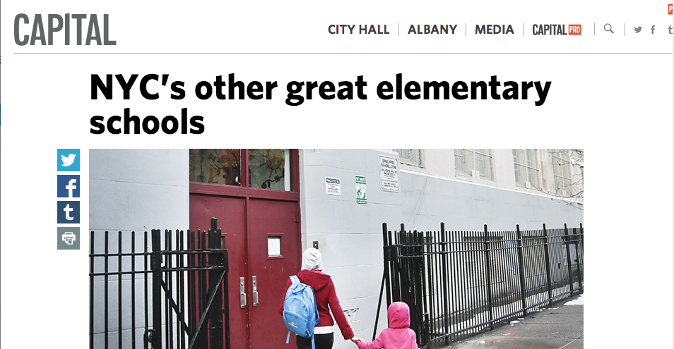 TAOTS featured on list of the city's best schools!