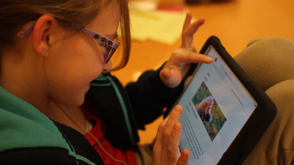 Video: 5th grade goes one-to-one with iPads!