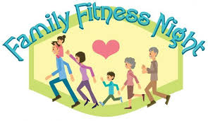Family Fitness Illustration