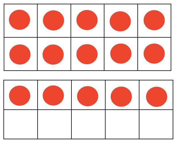 Math Workshop: Using a Double Ten Frame!