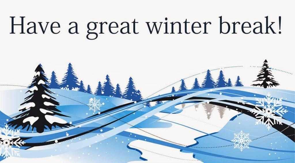 Illustration Have a great winter break