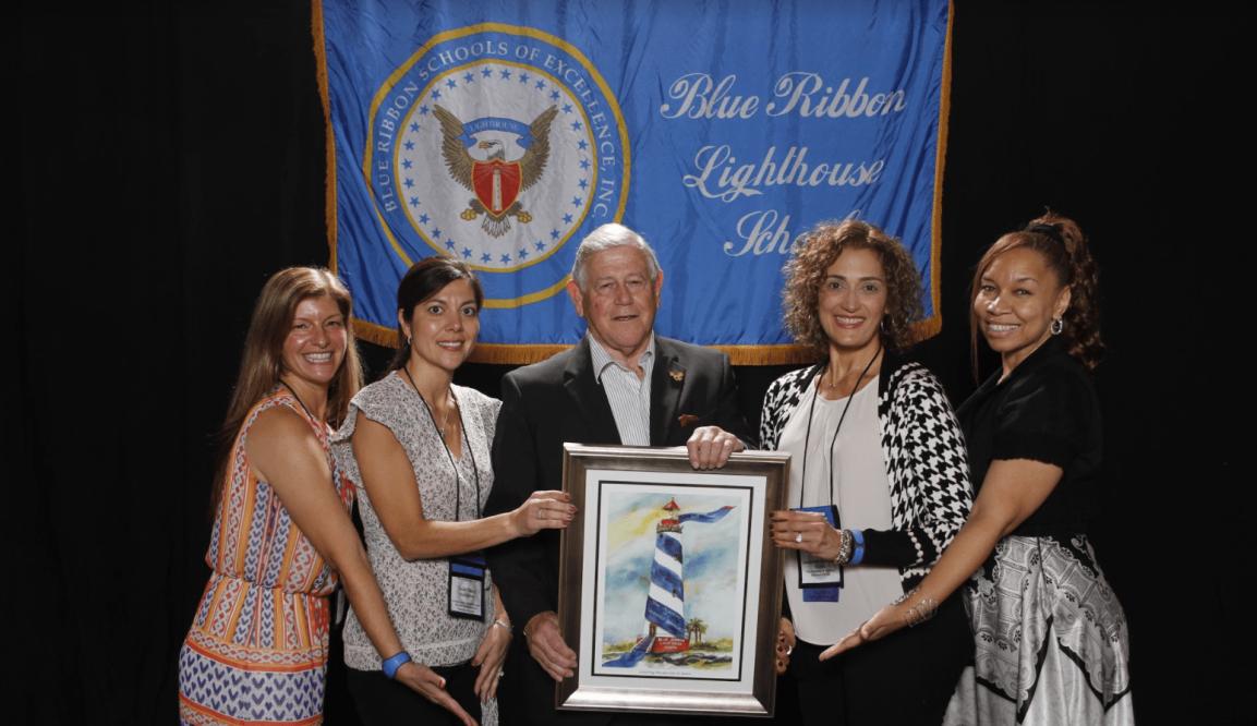 Blue Ribbon Lighthouse Award Conferred on NY CitySchool.