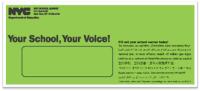 parent survey green envelope