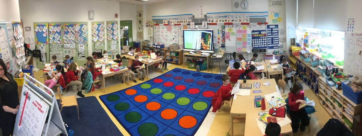 Grade 1 Classroom Tour with Video!