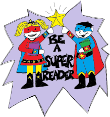 We are SUPER READERS in K-122!